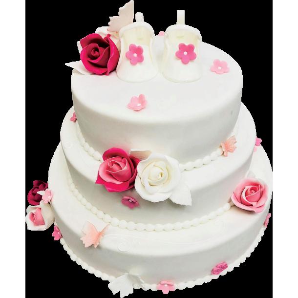 Торта за кръщене 2072