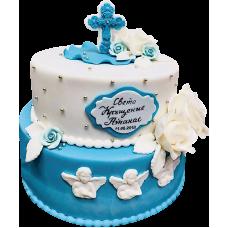 Торта за кръщене 2073