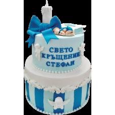 Торта за кръщене 2074